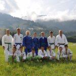 Mit dem Wiener Judoverband in St.Johann/S